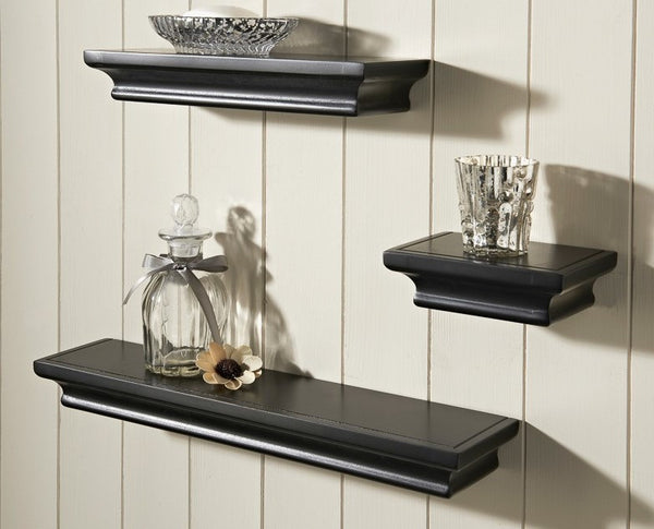 Royce Shabby Chic Set of 3 Floating Shelves - GSR Decor