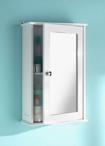 Saxony Bathroom Single Door Cabinet - GSR Decor