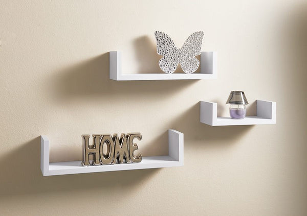 Bremen Set of 3 Floating Shelves - GSR Decor