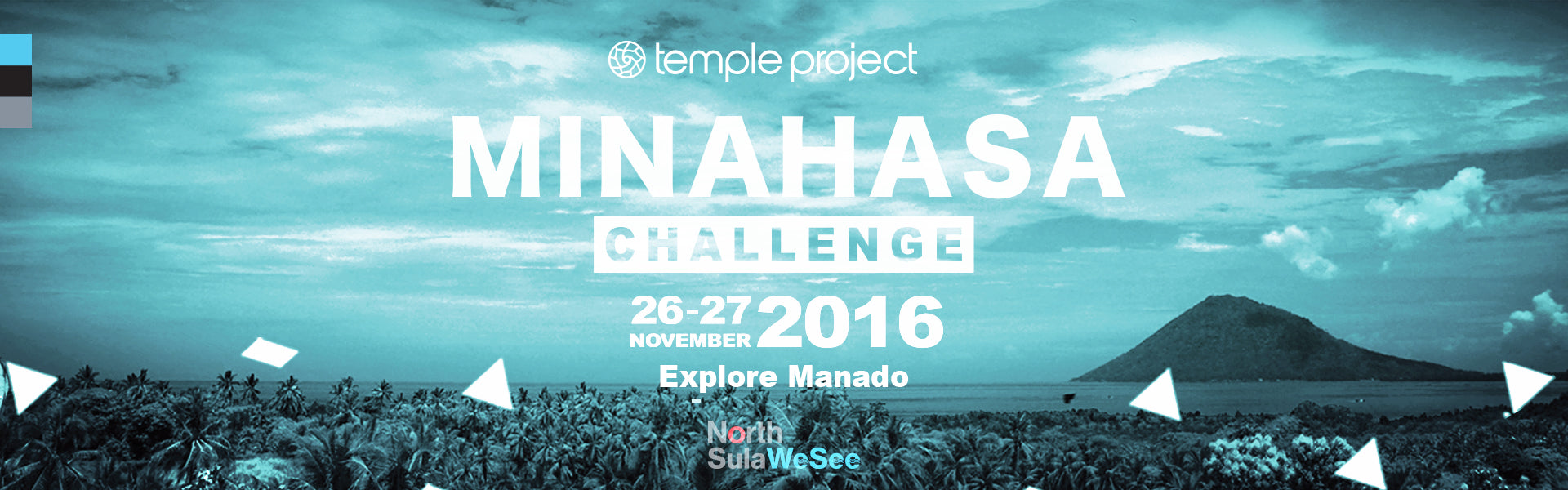 temple project cycling adventure minahasa challenge manado