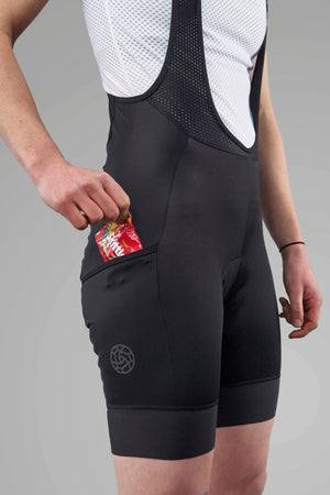 Women's Adventure Bib shorts - Black