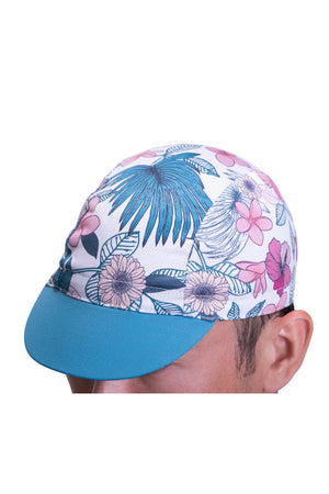 Botanical Cycling Cap - Zephyr White