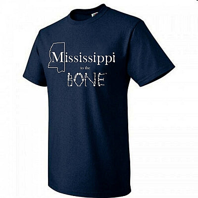 CLEARANCE SALE!  MISSISSIPPI TO THE BONE T-SHIRTS!