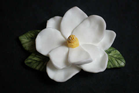 Magnolia Desk Art & Paperweight