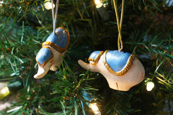 Elephant Ornament Set