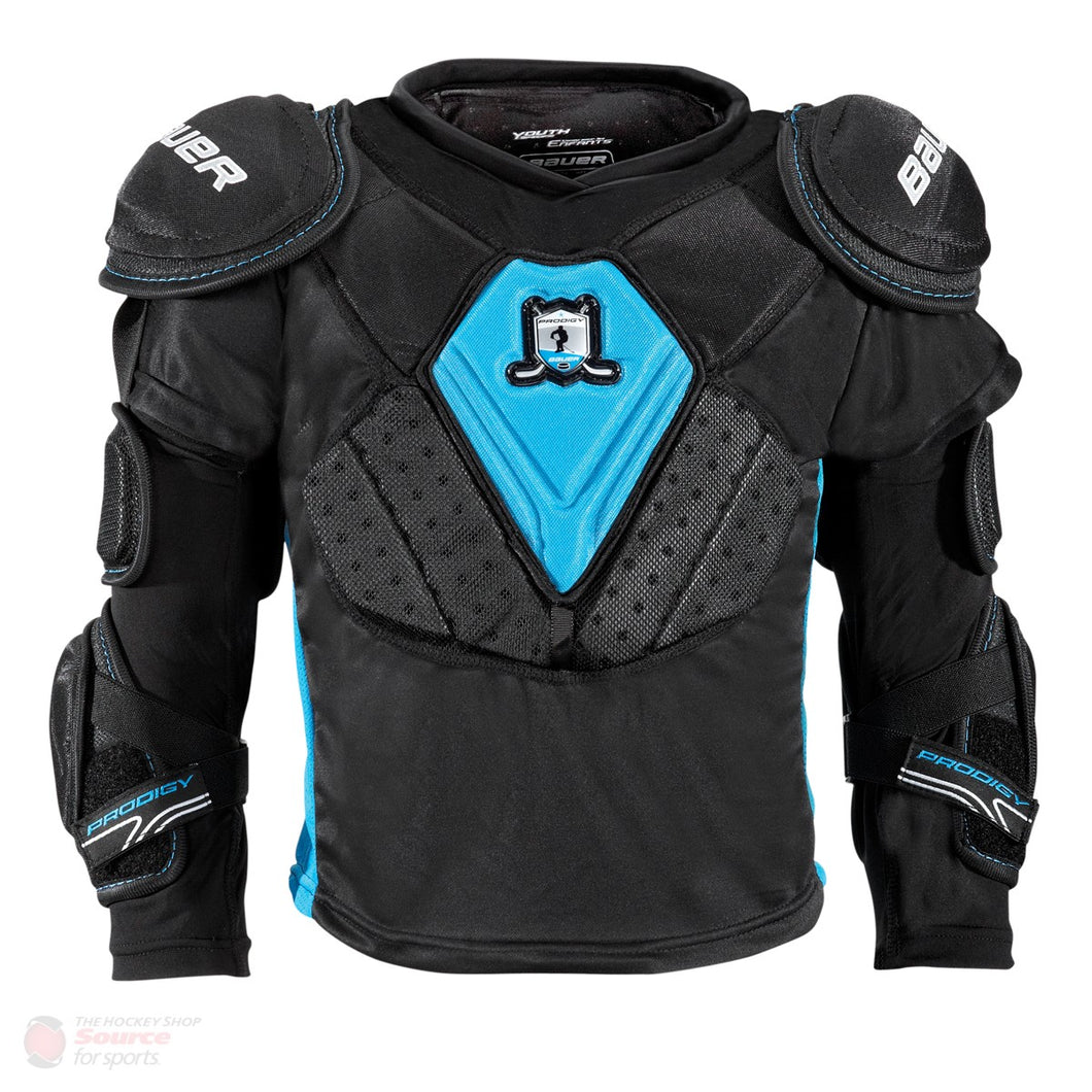 bauer prodigy youth top protective