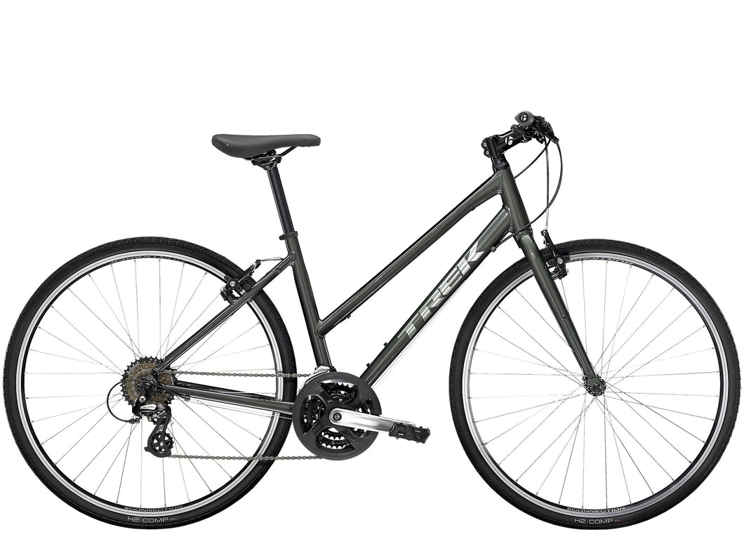 trek fx 1 stagger step thru hybrid bike