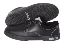 olson genesis ladies leather eigth inch slider curling shoe