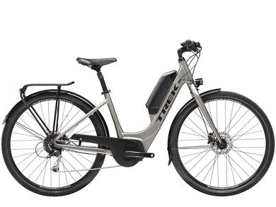 Trek Verve+ 2 Lowstep Electric Hybrid gunmetal pedal assist
