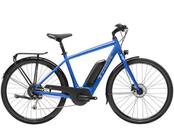 trek verve+ alpine blue pedal assist electric bike