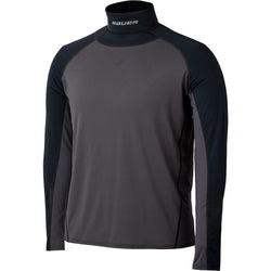 bauer ls long sleeve kevlar neck top performance layer