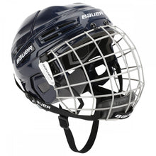 Load image into Gallery viewer, Bauer ims 5.0 hockey helmet navy
