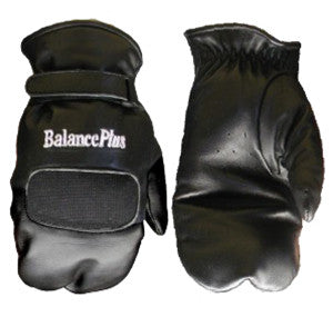 BALANCE PLUS curling mitts black