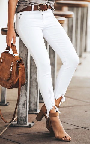 Hopelessly In Love White Skinny Jeans