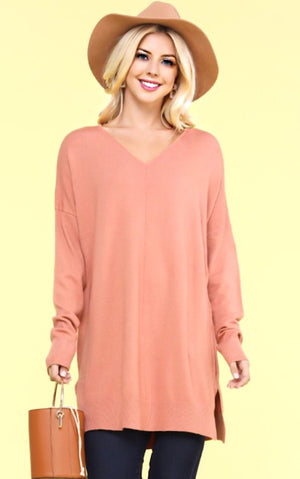 Finest Hour Apricot Sweater, S-3X *WEEKLY STEAL*