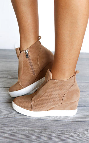 Doll House Wedge Sneakers, 5.5, 6 in stock!