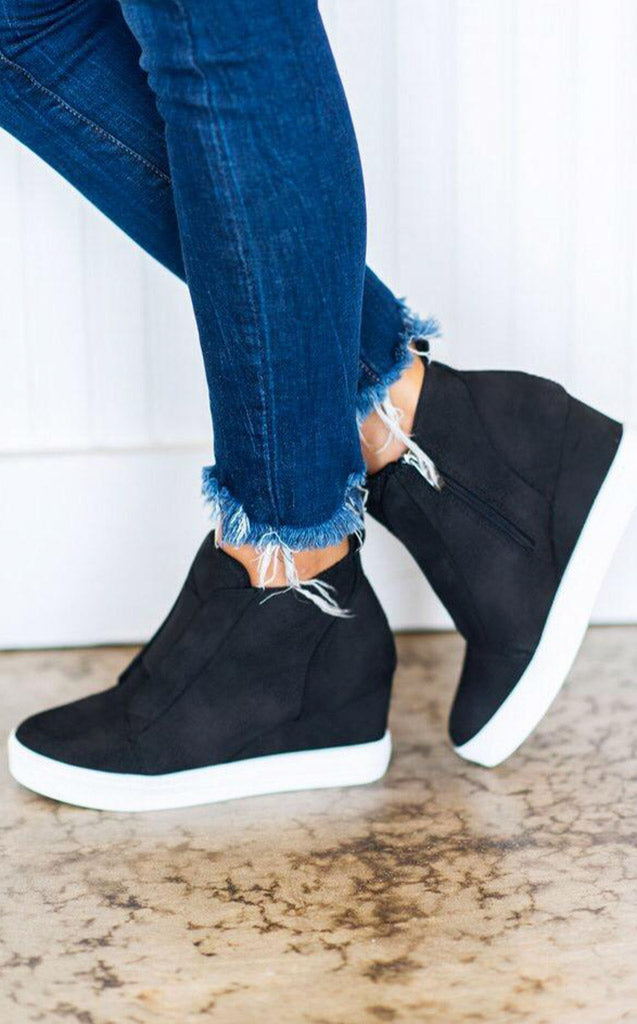 Doll House Wedge Sneakers