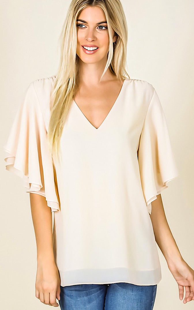 Brand New Day Ivory Top, S-3X! *SATURDAY STEAL!*