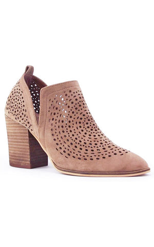Hot Stepper Taupe Booties