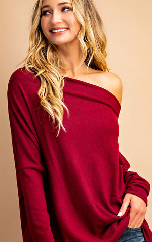 Ski Lodge Ruby Sweater