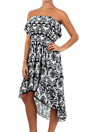 Haley High Low Ruffle Dress