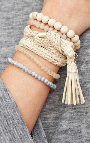 That's A Wrap Bracelet Stack