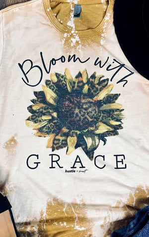 Bloom With Grace Tee, S-3X!