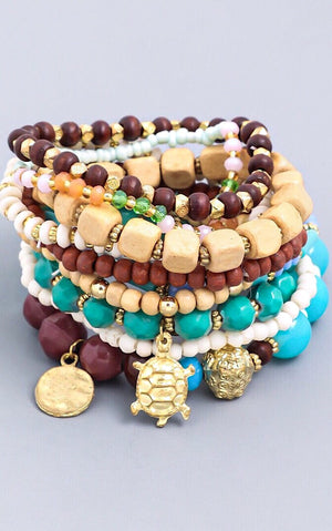 Maui Dreams Bracelet Stack