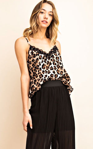 Wild Thing Leopard Cami, S-3X!