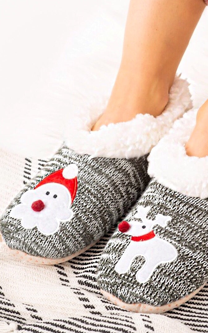 Comfy Cute Christmas Slippers