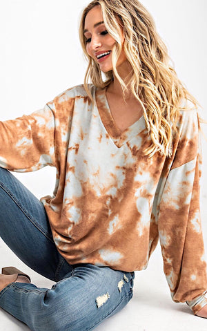 Dream Big Marble Tie Dye Top, SIGN UP FOR RESTOCK!