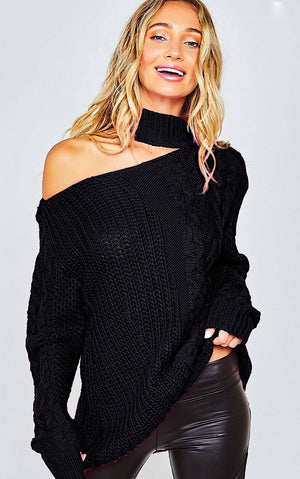 Eye Candy Black Sweater