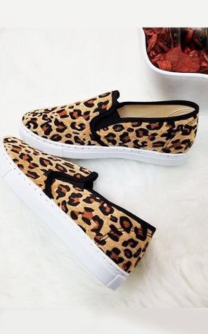 On The Prowl Leopard Sneakers