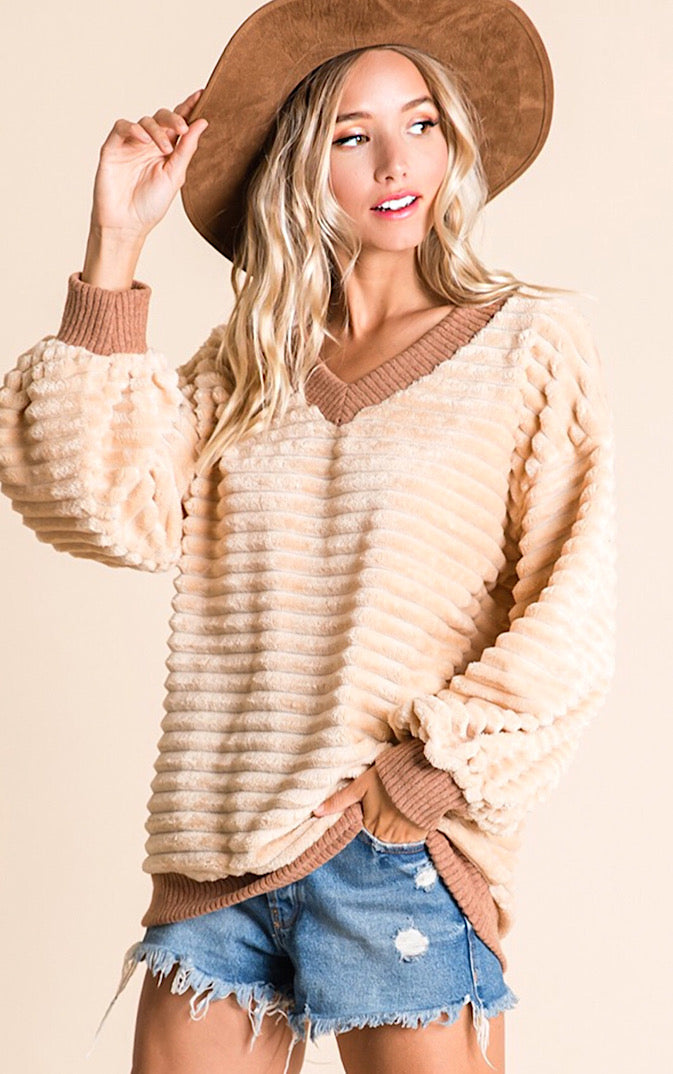 Savor The Moment Chenille Top, RESTOCKED!