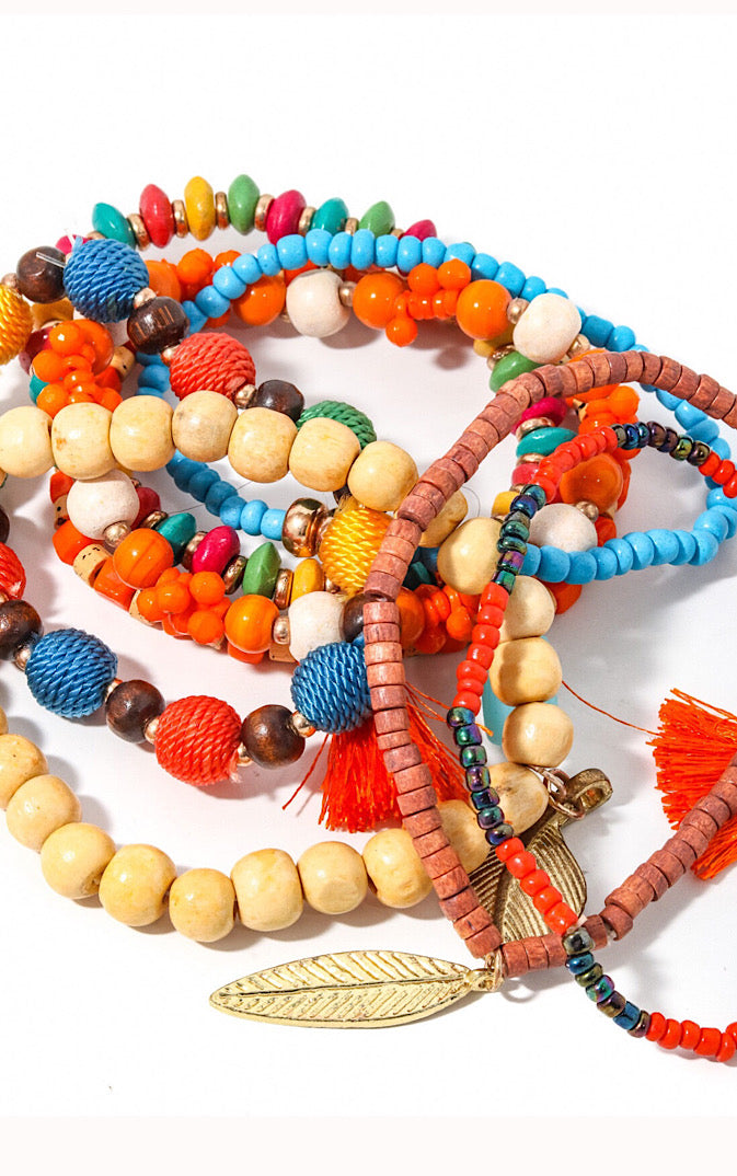 Tropical Persuasion Bracelet Stack