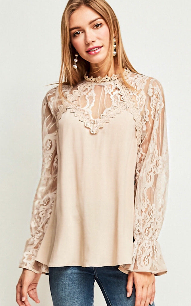 Celebrate In Style Lace Top