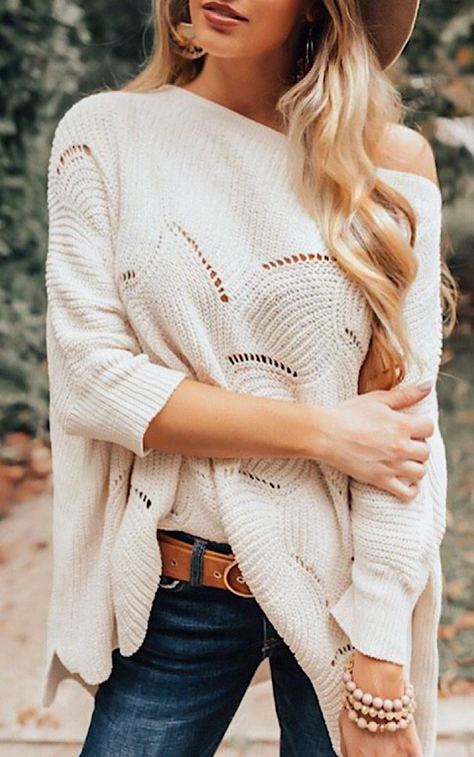 Chic & Cozy Chenille Sweater, RESTOCKED!