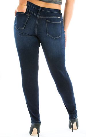 Touch Of Class Dark Wash Jeans, 3-3X!