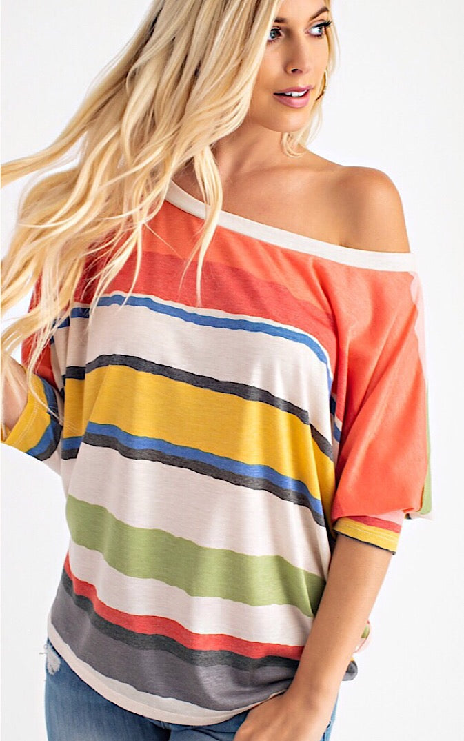 Stripe A Pose Knit Top, RESTOCKED!