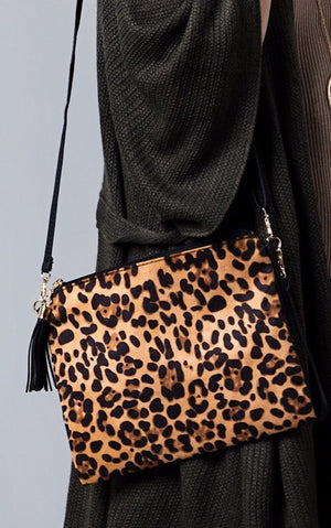 Express Yourself Cheetah Print Bag