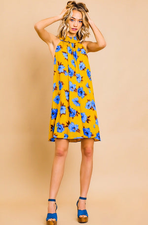Charmed Life Floral Shift Dress