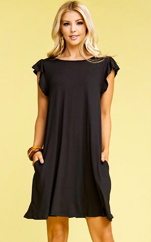 Perfect Sense Black Dress