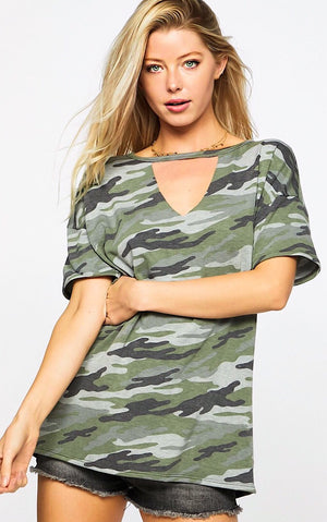 Call Of The Wild Camo Top, RESTOCKED!
