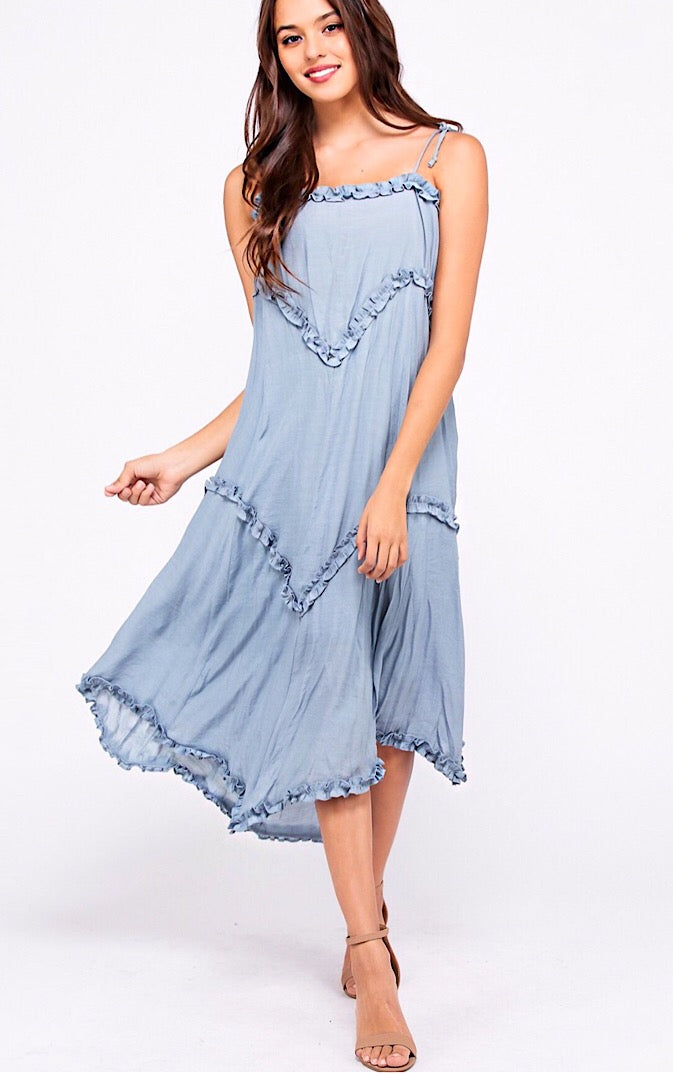Seaside Bliss Midi Dress