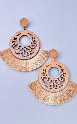 Light As A Feather Fringe Earrings