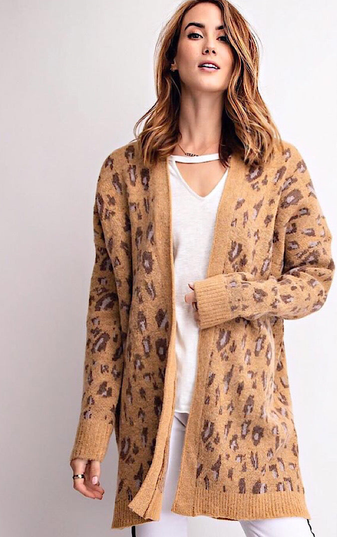 Life Of Luxury Leopard Cardigan