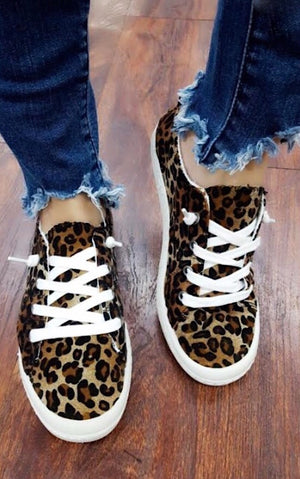 Walk On The Wild Side Cheetah Sneakers
