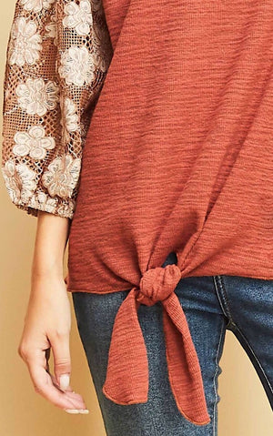 Pretty Penny Puffy Sleeve Top
