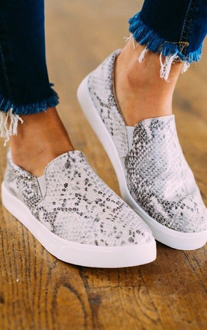 Classic Comfort Python Sneakers