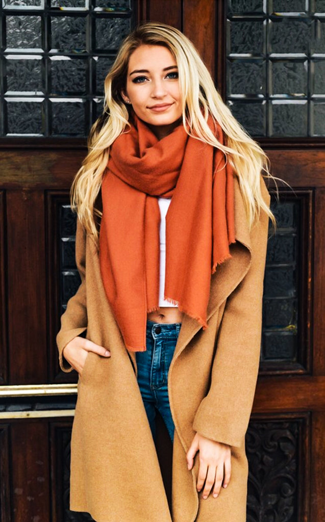 Hot and Spicy Blanket Scarf